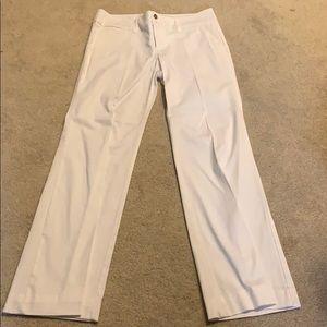 White Long Pants